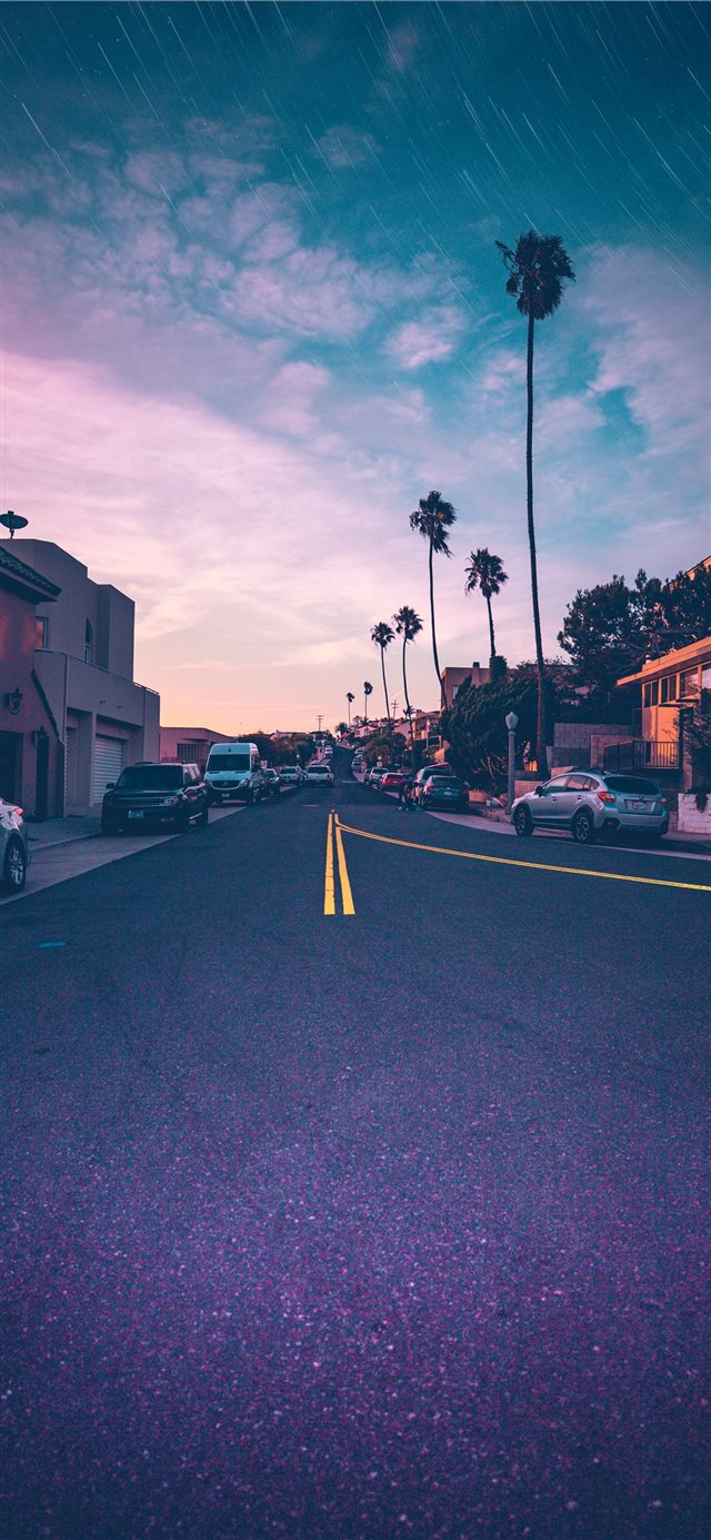street iPhone X wallpaper