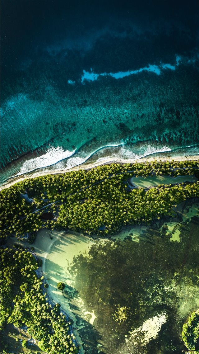 Koattey Maga  Addu City  Maldives iPhone 8 wallpaper