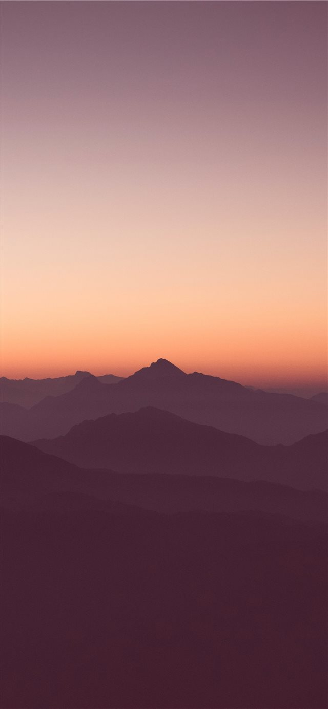 Purple haze iPhone X wallpaper