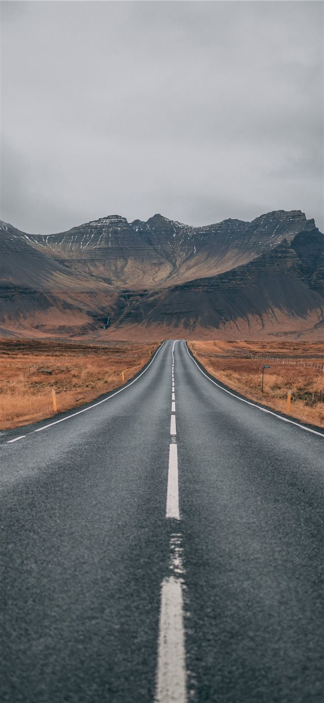 Road to paradise iPhone X wallpaper