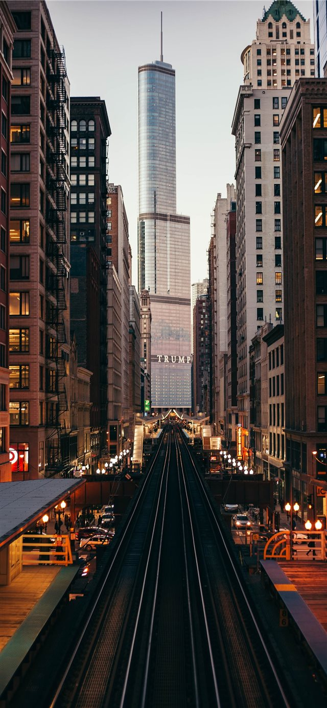 The CTA iPhone X wallpaper