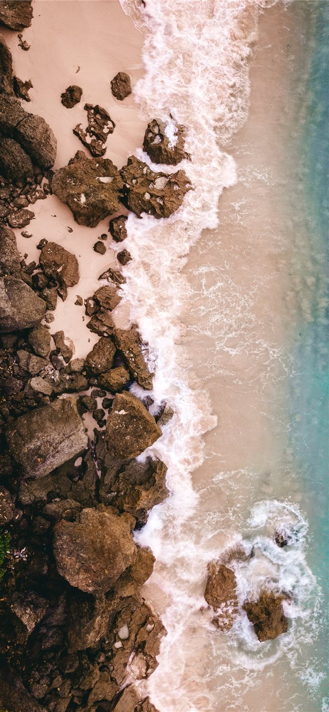 Morning waves iPhone 11 wallpaper