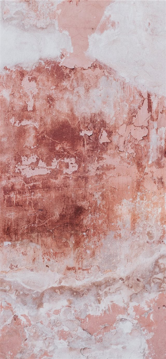 Pink damaged wall iPhone 11 wallpaper