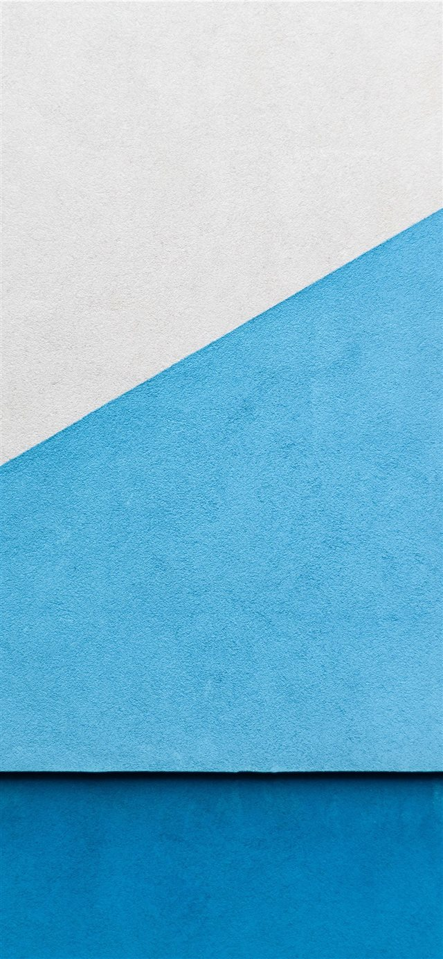 Blue wall iPhone 11 wallpaper