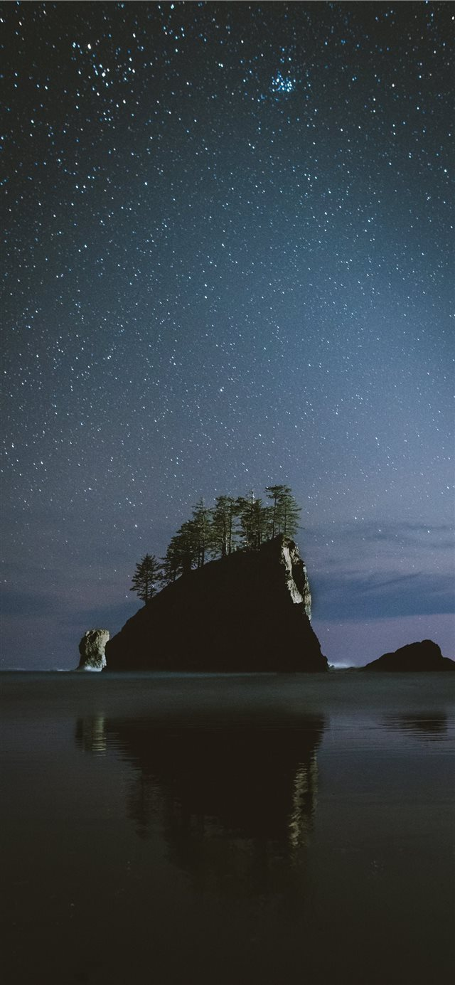 Coastal Nights iPhone X wallpaper