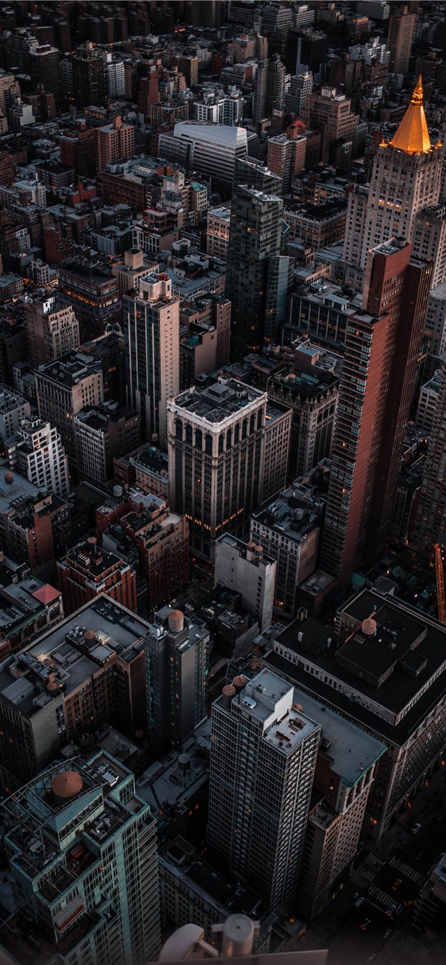 Empire State Building  New York  United States iPhone X wallpaper
