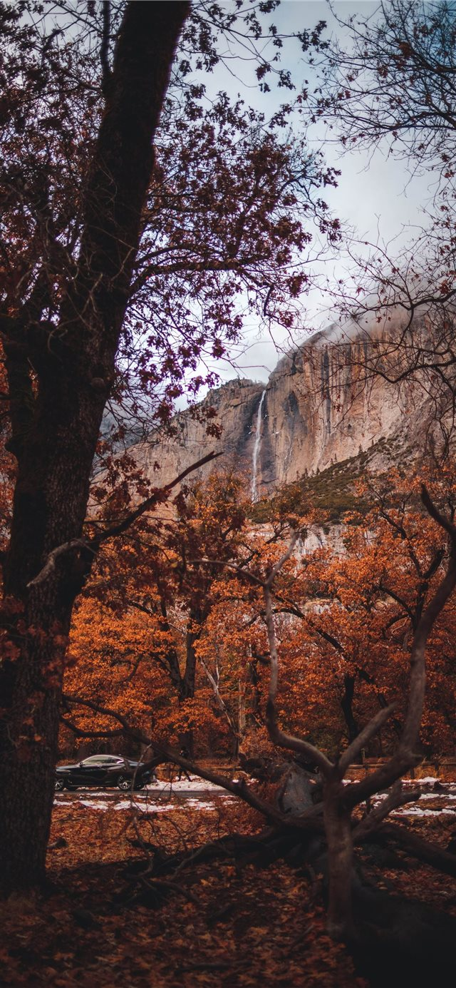 First time in Yosemite iPhone X wallpaper