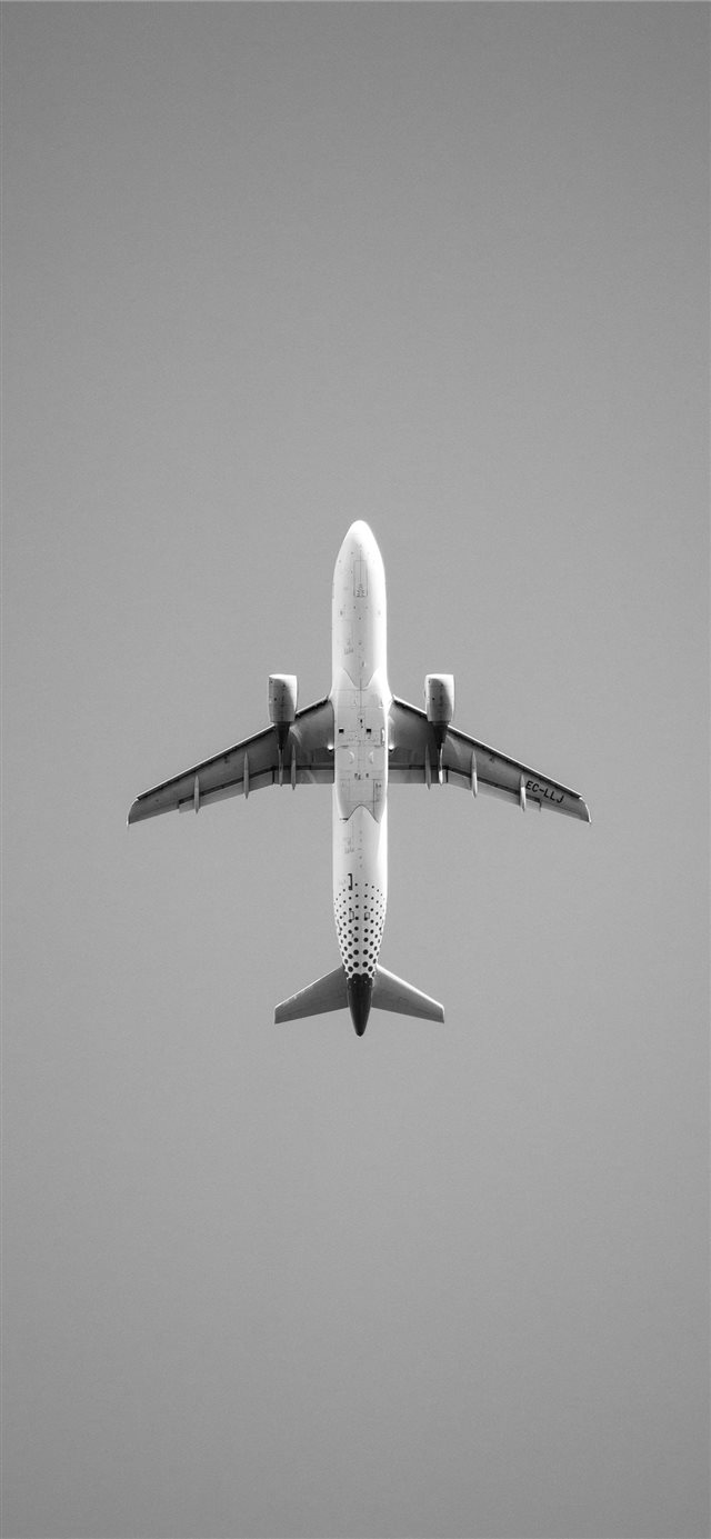 Just a plane iPhone X wallpaper