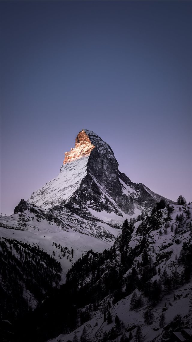 Matterhorn  Zermatt  Switzerland iPhone 8 wallpaper