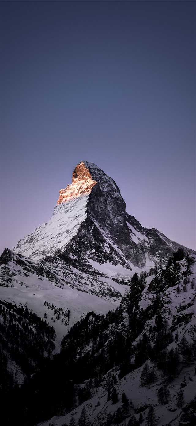 Matterhorn  Zermatt  Switzerland iPhone X wallpaper