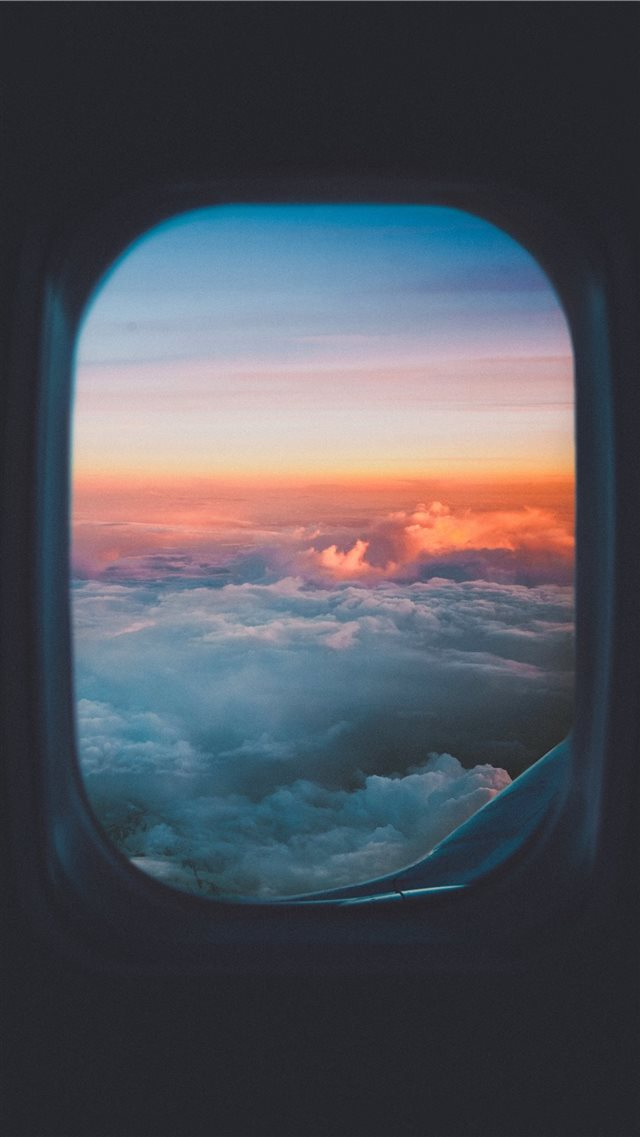 Take me to the sky iPhone 8 wallpaper