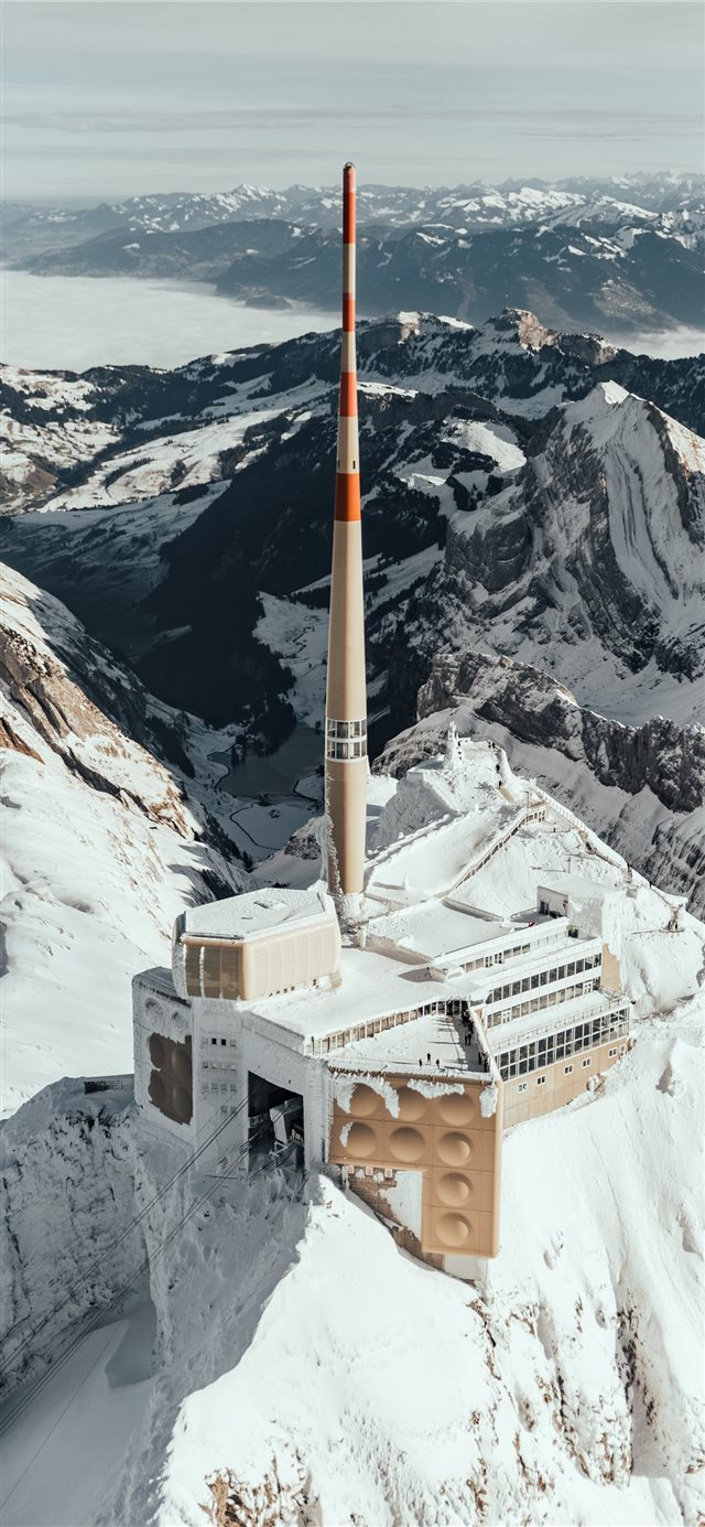 The Säntis iPhone 11 wallpaper