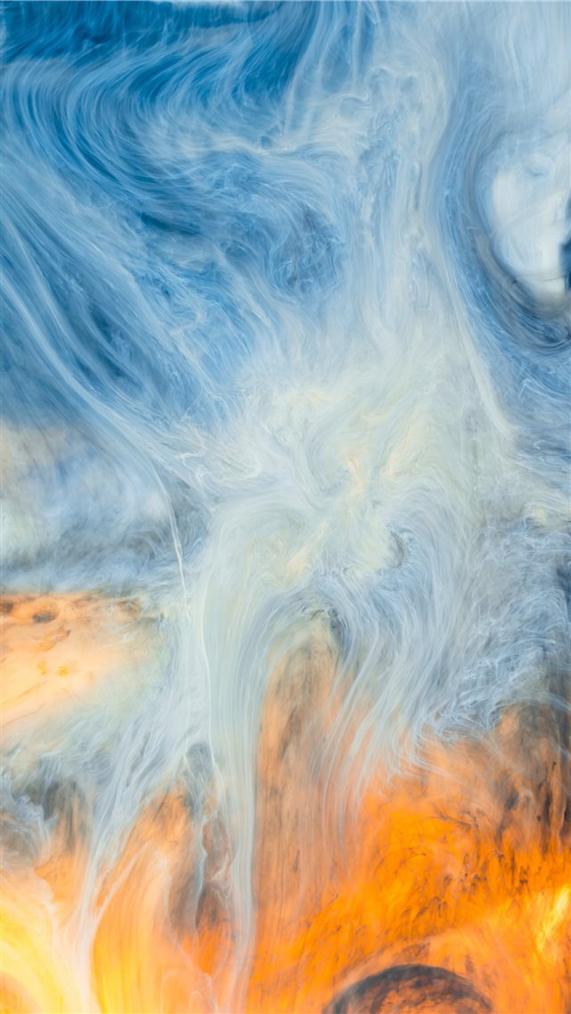 Acrylic paint abstract photo 2 iPhone 8 wallpaper