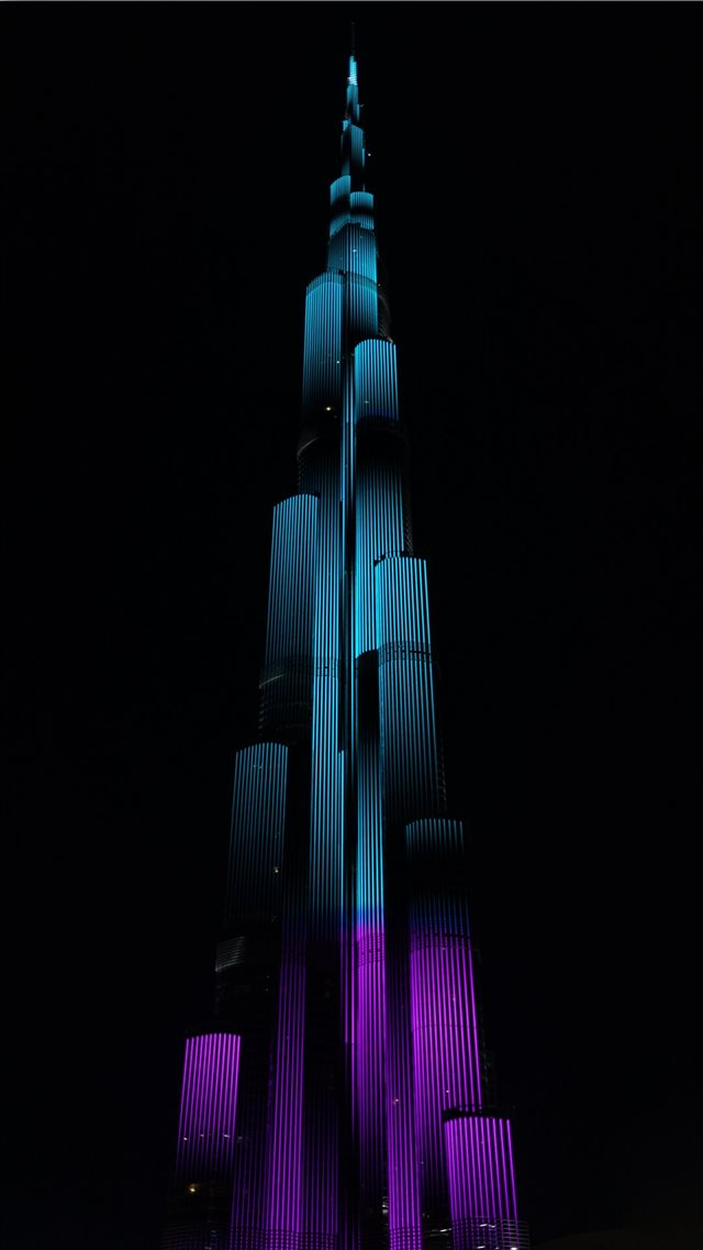 Burj Khalifa  Dubai  UAE iPhone 8 wallpaper