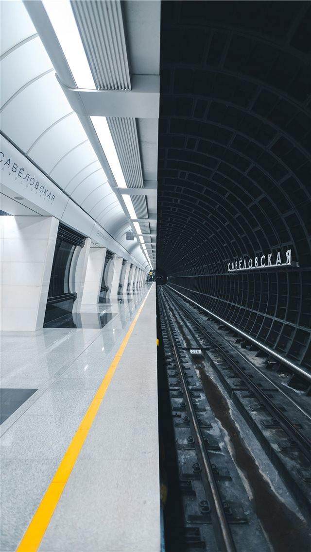 Metro station Savelovskaya iPhone 8 wallpaper