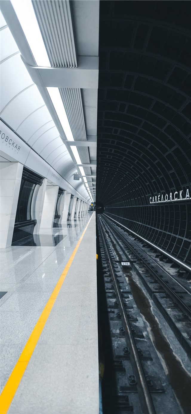 Metro station Savelovskaya iPhone X wallpaper