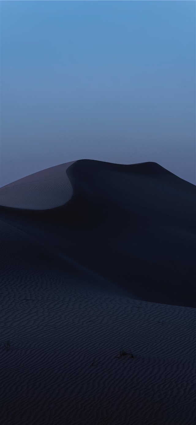 Desert Dusk iPhone 11 wallpaper