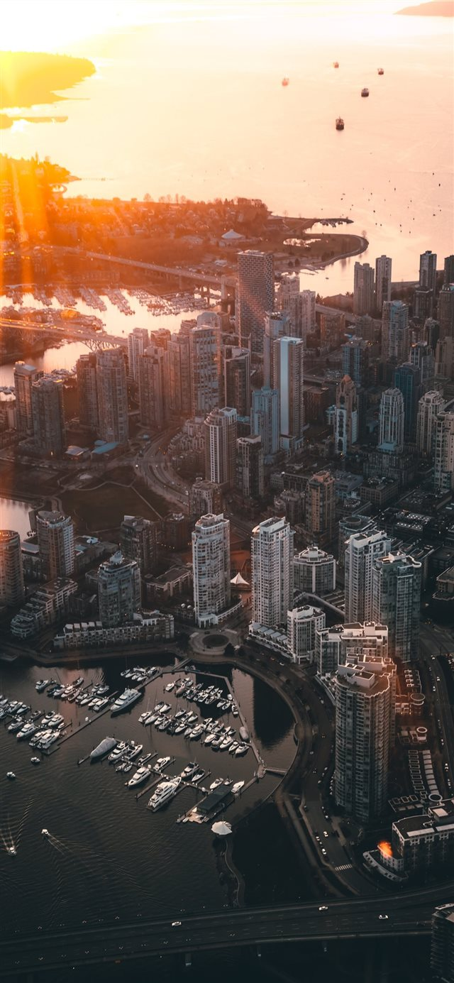 Vancouver  Canada iPhone X wallpaper