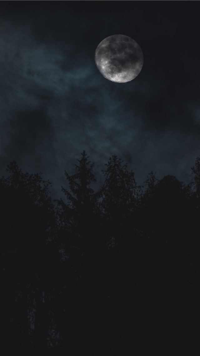 A strange mood iPhone 8 wallpaper