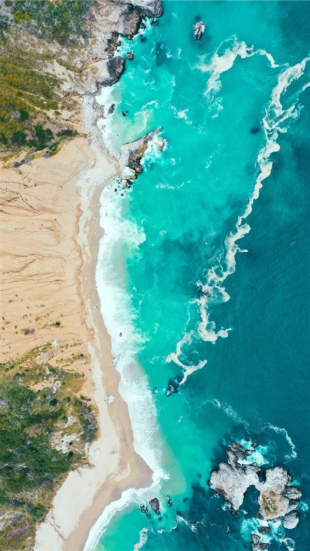 Big Sur  United States iPhone SE wallpaper