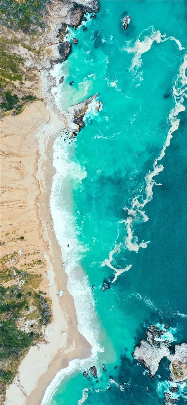 Big Sur  United States iPhone X wallpaper