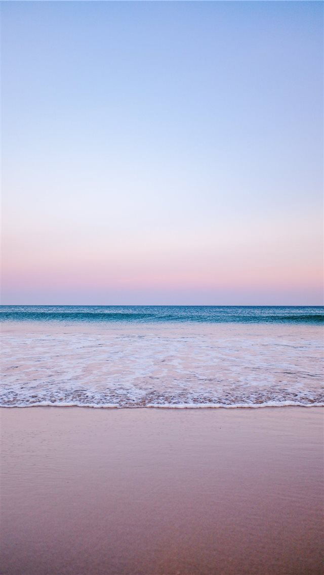 It was a beautiful but windy evening  with small w... iPhone 8 wallpaper