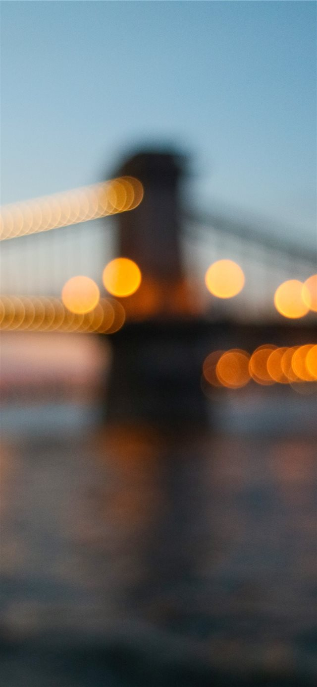 Budapest bridge iPhone X wallpaper