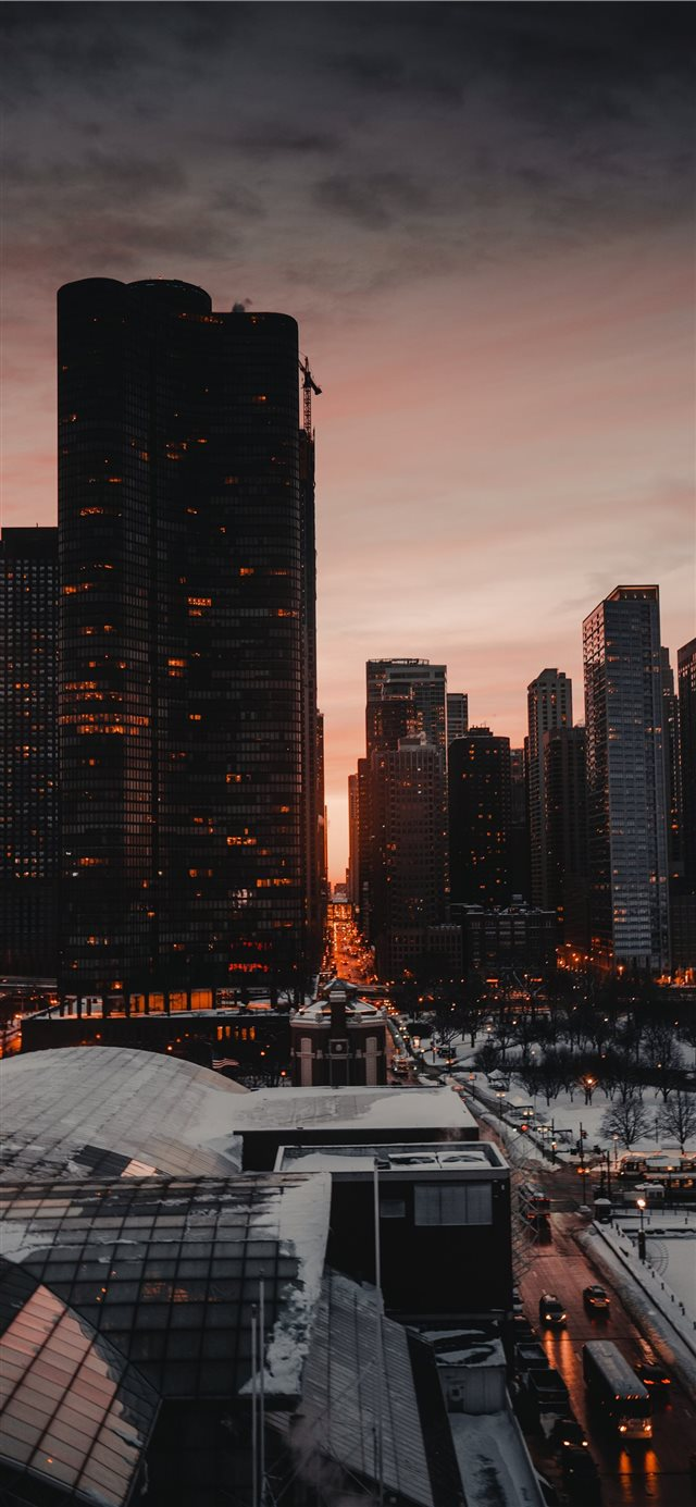 Chicago  USA iPhone X wallpaper