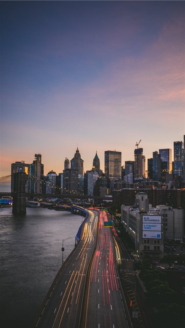 Manhattan Bridge  New York  United States iPhone 8 wallpaper