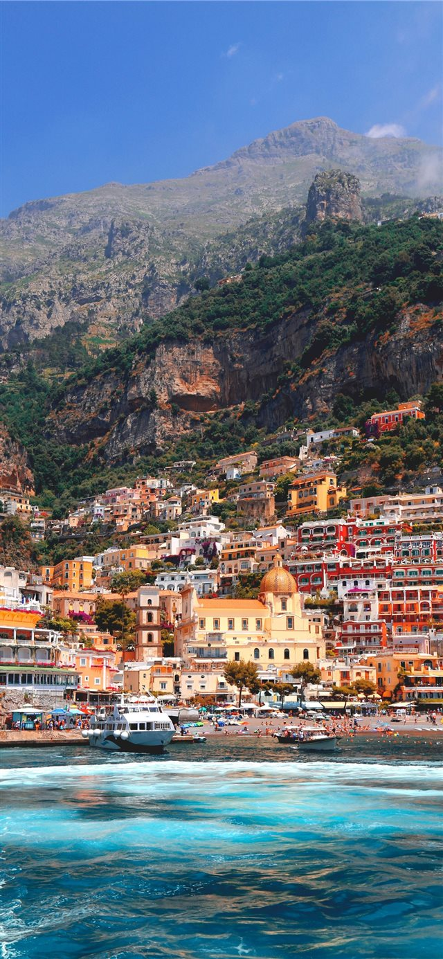 Positano  Italy iPhone 11 wallpaper