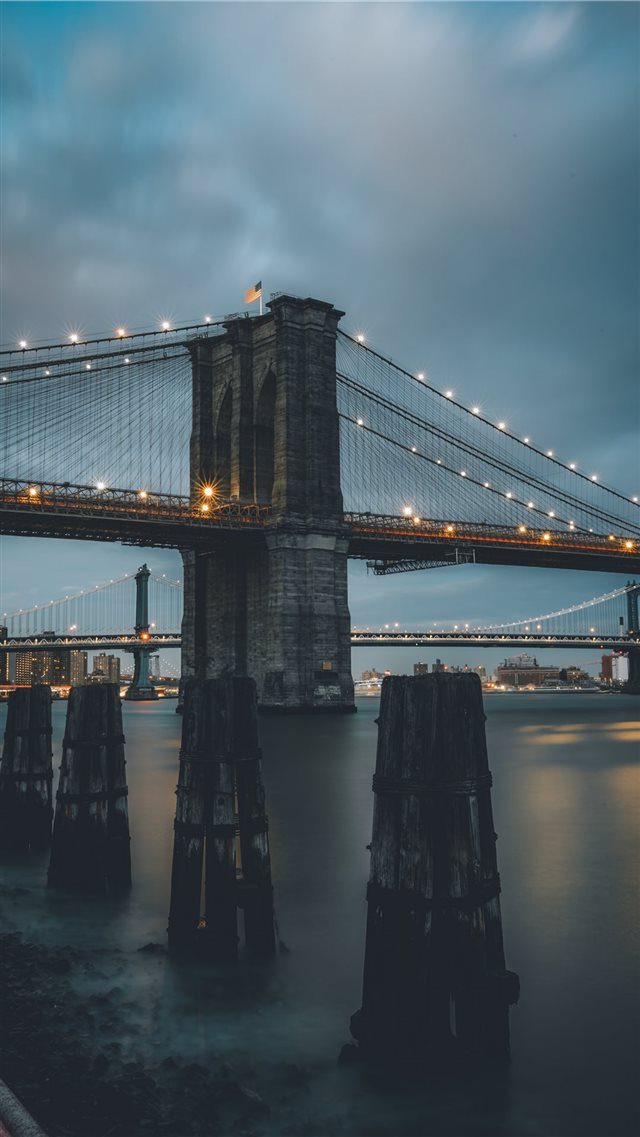 South Street Seaport   New York  United States iPhone 8 wallpaper