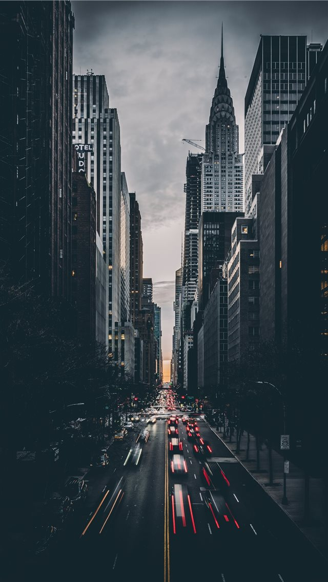 Tudor City  New York  United States iPhone 8 wallpaper