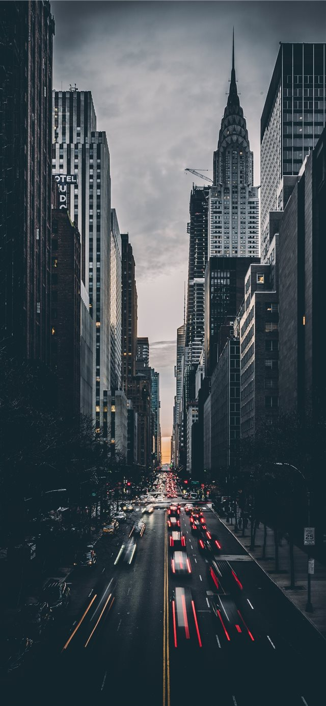 Tudor City  New York  United States iPhone X wallpaper