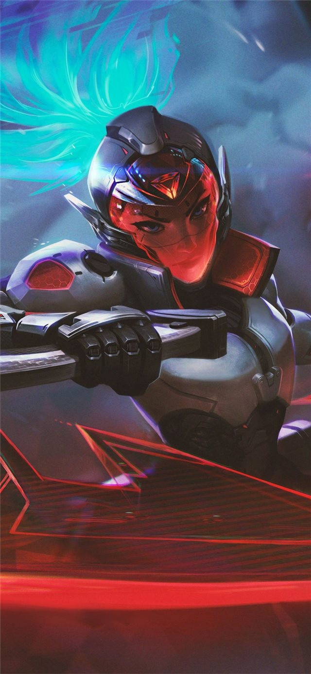 akali league of legends game 4k iPhone X wallpaper