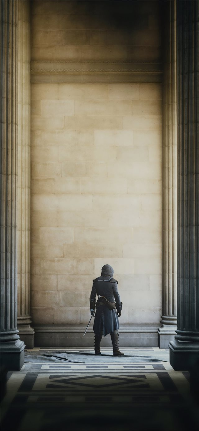 assassins creed unity video game 2019 iPhone X wallpaper