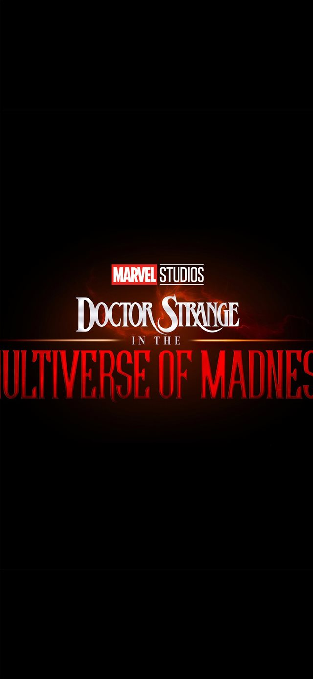 doctor strange in the multiverse of madness iPhone X wallpaper