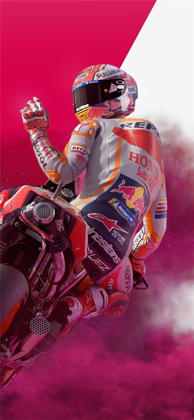 motogp 19 4k iPhone X wallpaper