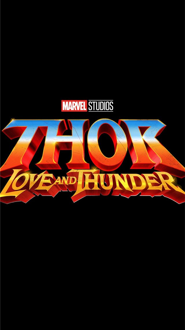 thor love and thunder 2021 iPhone 8 wallpaper