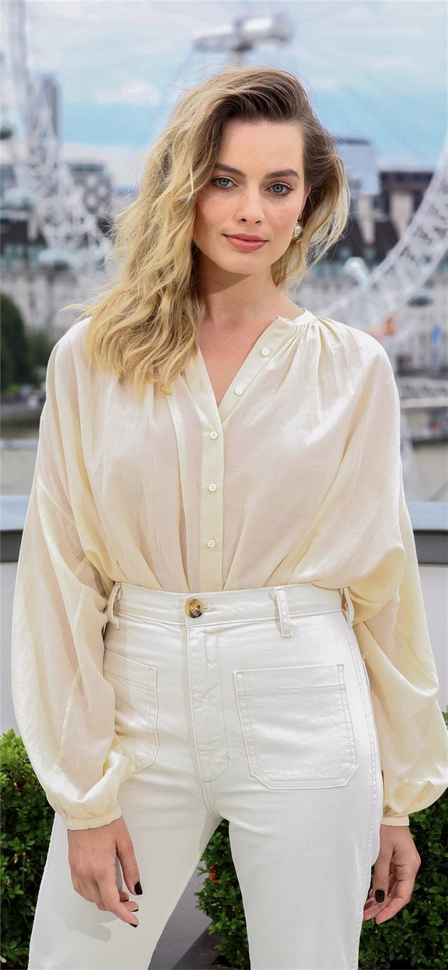 4k margot robbie 2019 iPhone X wallpaper