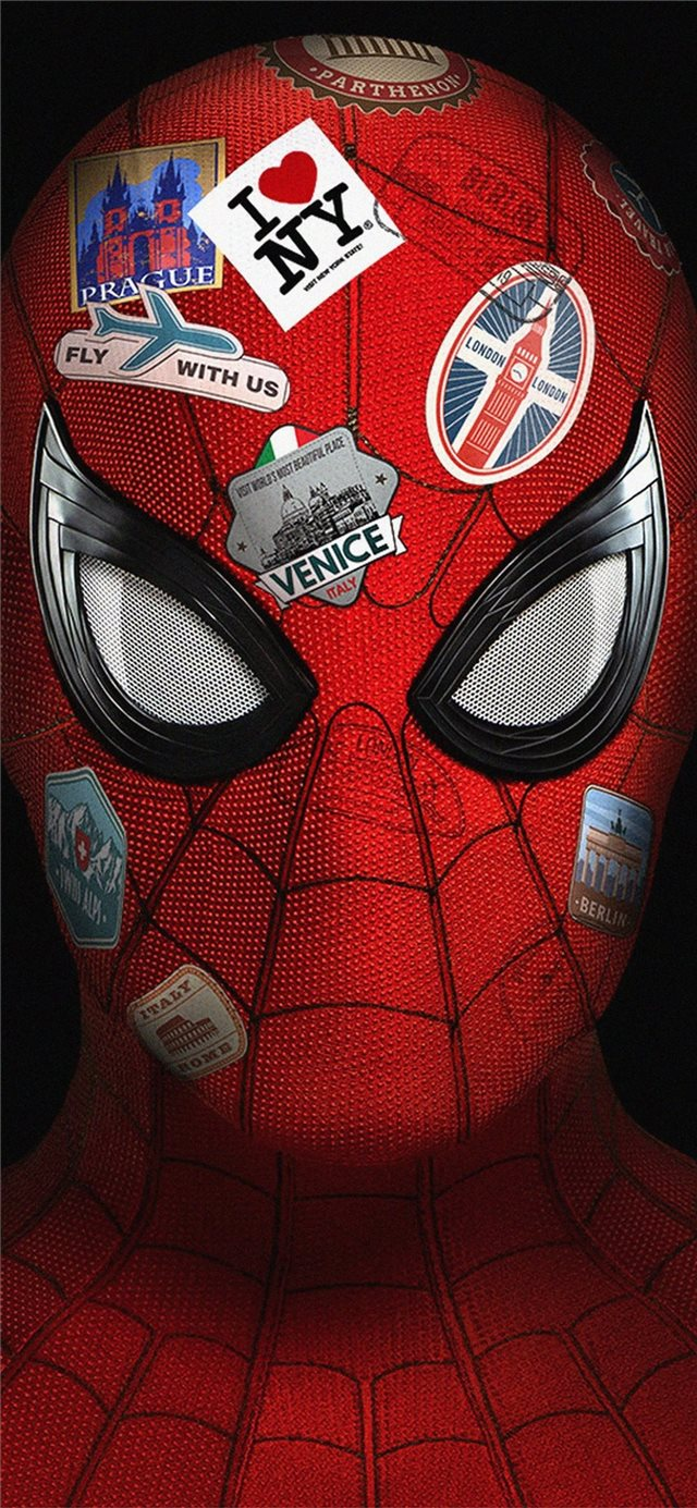 4k spider far from home iPhone 11 wallpaper