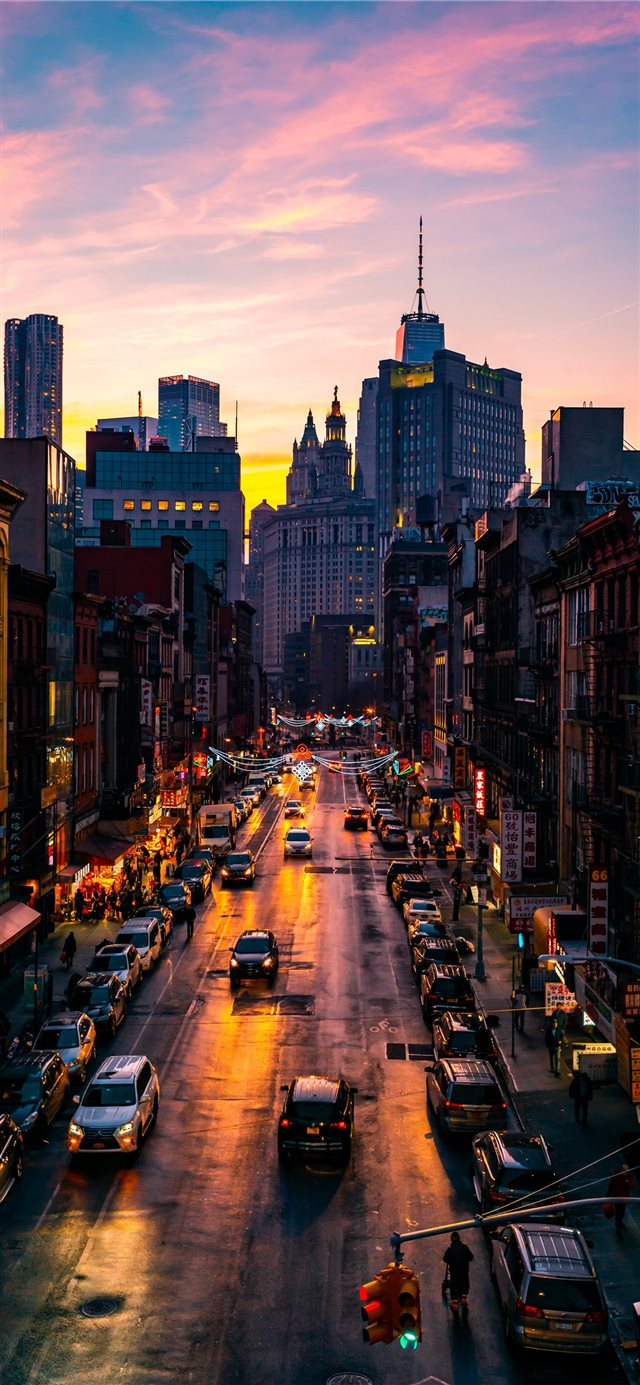 Chinatown iPhone X wallpaper