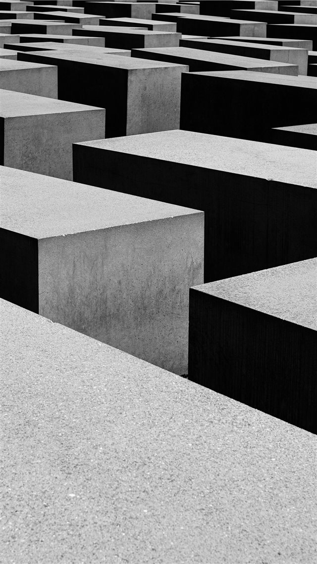 Holocaust Memorial  Berlin  Germany iPhone 8 wallpaper