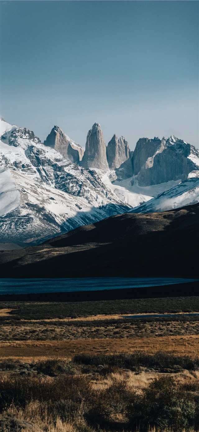 Torres del Paine National Park  Puerto Natales and... iPhone X wallpaper