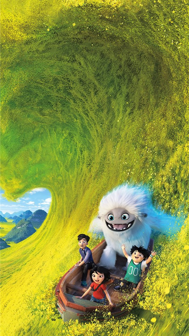 abominable 2019 animated movie 8k iPhone 8 wallpaper