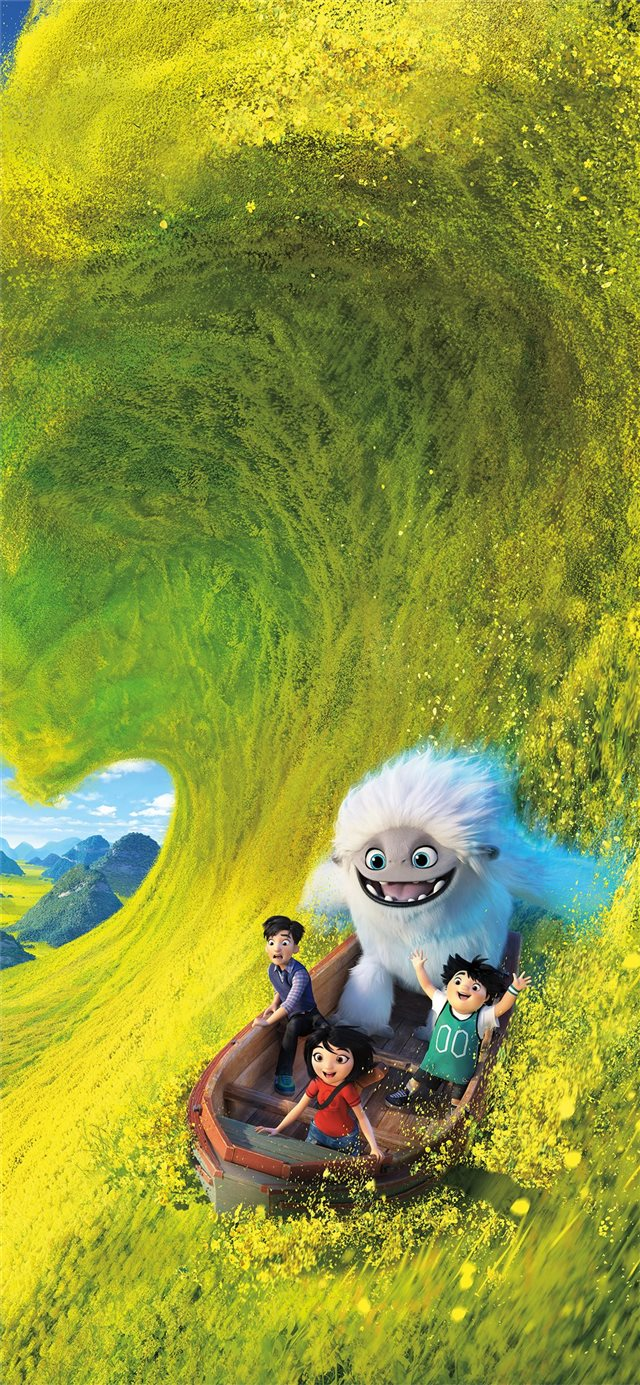 abominable 2019 animated movie 8k iPhone X wallpaper