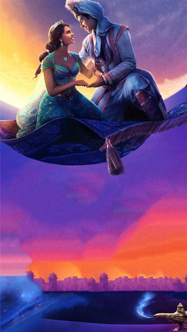 aladdin 2019 4k movie iPhone 8 wallpaper