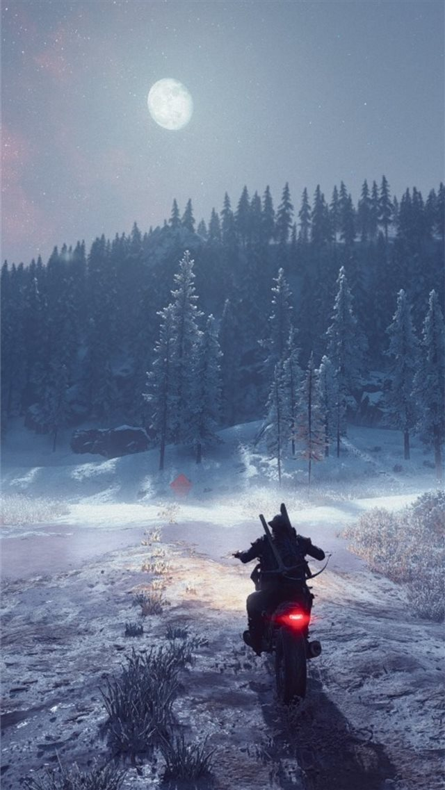 days gone ride iPhone SE wallpaper