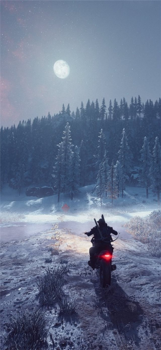 days gone ride iPhone X wallpaper