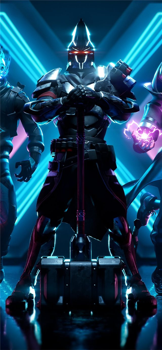 fortnite season x iPhone X wallpaper