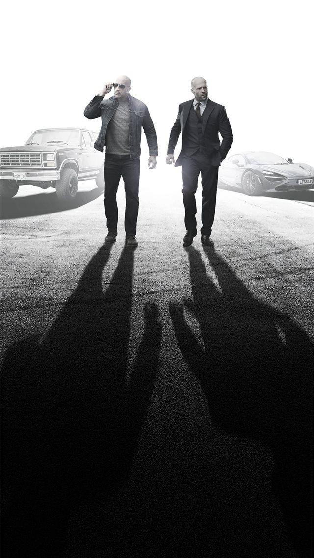 hobbs and shaw 4k imax iPhone 8 wallpaper